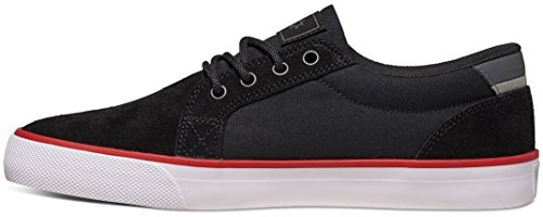 DC Council S, A collo basso donna black/ white/ red