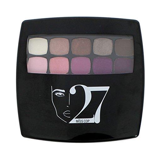 Palette de Maquillage 27 Couleurs Miss Cop