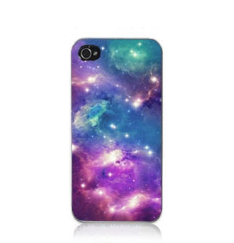 S9Q Nebula Galaxy Space Universe Vintage Retro Snap On Hard Case Cover Back Skin Protector For Apple iPhone 5C Style F