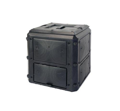 KHW 56000 BIOQUICK, composter estendibile con coperchio, modello base 420 L, antracite