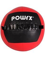 Balón medicinal 1 kg, 2 kg, 3 kg, 4 kg, 5 kg, 6 kg, 7 kg, 8 kg, 9 kg, 10 kg - Ideal para los ejercicios de FUNCTIONAL FITNESS, core training y para el desarrollo de la potencia muscular - Wall ball (8 kg)