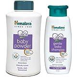 Himalaya Baby Powder, 700g and Shampoo (400 ml) Combo