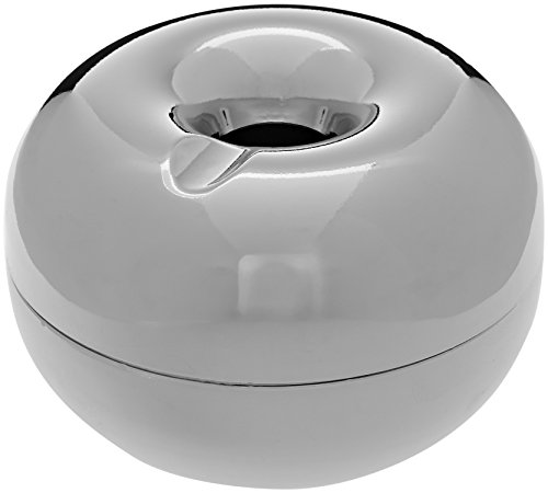 Chilling Time COP0002 Apple Posacenere da Tavolo in Metallo, Decorazione per Interni, Accessorio per Fumatori - 1 pz