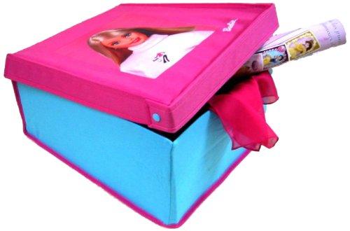 Imagen principal de Barbie - Caja multiusos barbie tela tejana 40x32c