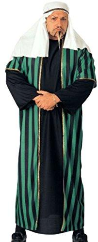 Halloweenia - Herren Karnevalskomplettkostüm Plus Size arabischer Scheich , XXL, (Disco Size Kleid Plus)