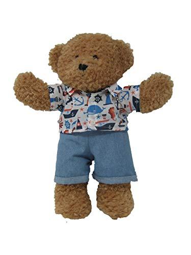 Lulas Workshop Nautisches Outfit passend für 40,6 cm Build A Bear