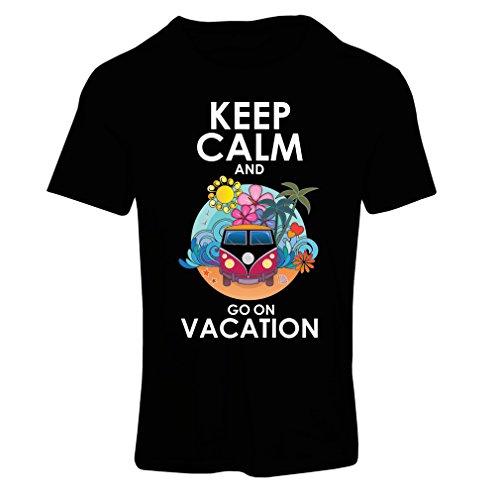 Frauen T-Shirt Gehen Sie auf Urlaub, nette Outfits, Strandkleidung, Resortabnutzung (Small Schwarz (Maiden Bier Outfit)