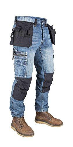 Dunderdon Pantaloni da lavoro P12, blu, P12