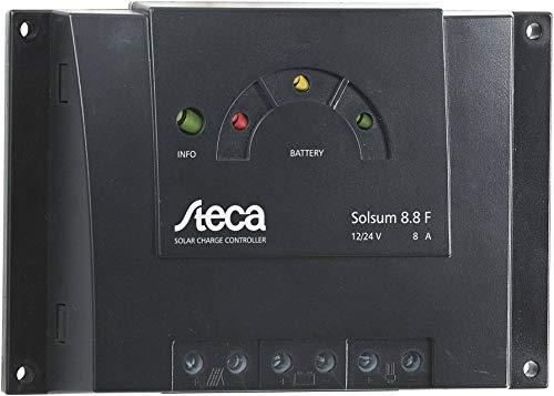 Solarladeregler Steca Solsum 8.8f 12V 24V PWM 8A