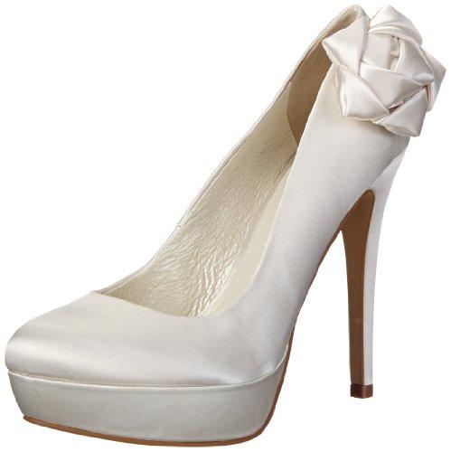 Menbur Wedding Galatea 1, Fermé femme Blanc - Elfenbein (Ivory 04)