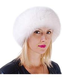FOX FASHION Pelz Stirnband aus Weißfuchsfell Fell Ski Echtpelz Echtfell  Echt Weiß Fuchs Fuchsfell Weißfuchs Tschapka 151eb5c08f