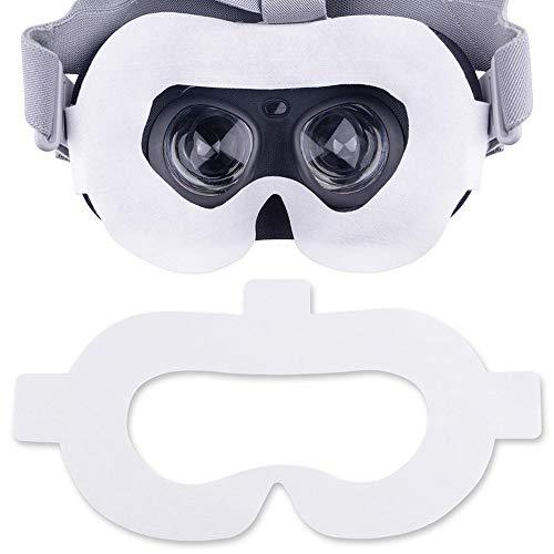boastvi VR Masken,Einweg Gesichtsmaske, VR Daydream Hygiene Maske Augenmaske Pad Für HTC Vive VR Pro Oculus Quest Rift S GO Fall Für PS4 VR Samsung GEA 100 Stücke -