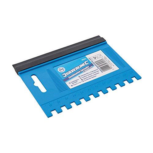 Silverline 380251 Zahnspachtel und Fugengummi 90 x 10 x 130 mm