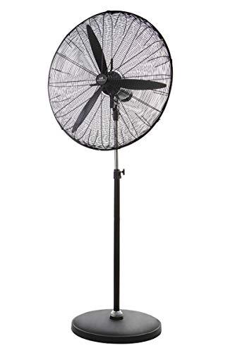 Orbegozo PWS 0165 - Ventilador de pie industrial con cabezal multiorientable y...