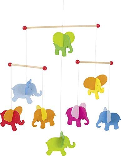 Mobile Elefanten: 40 x 45 cm, Holz, per Stück -