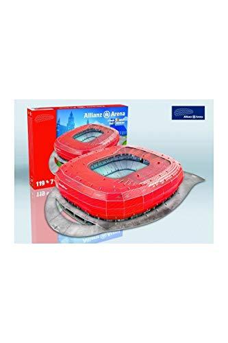 3D Stadion-Puzzle Allianz Arena Münc.rot