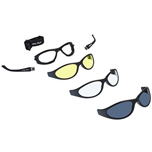 Ugly Fish Motorradsonnenbrille Glide Multi-Lens Pack
