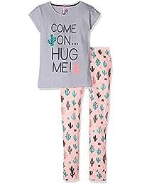 Lina Pink Ef.Cactus.Pl.Mz, Ensemble de Pyjama Fille