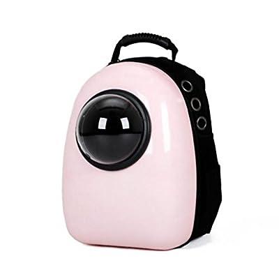 Desconocido UU Mascotas Kit Portátil Saliente para Mascotas Cat Chest Pack Dog Bag Bolso para Mascotas Pet Carrier ( Color : Pink ) de UU
