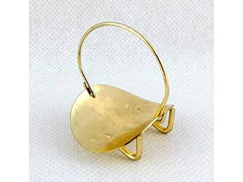 Melody Jane Puppenhaus Miniatur Kamin Zubehör Messing Log Halter Korb 1:12 Maßstab (Log-korb)