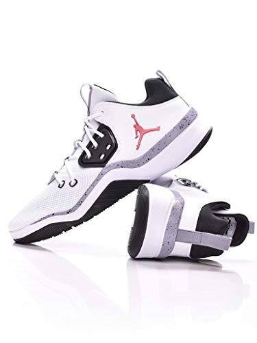 Jordan Nike Herren Air DNA Weiß Mesh/Synthetik Sneaker 44