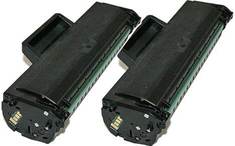 Prestige cartridge cartuccia di toner ad alta capacita compatibile con d1042s per stampante samsung, 2 pezzi, nero