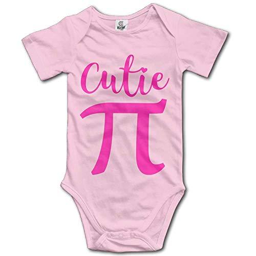 Kostüm Cop Cutie - TKMSH Unisex Baby's Climbing Clothes Set Cutie Pi Bodysuits Romper Short Sleeved Light Onesies for 0-24 Months