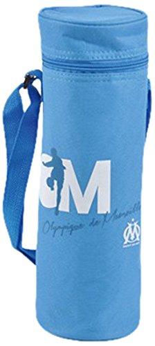 Olympique de marseille 5gla016om - porta bottiglie termico, 33 cm, colore: blu