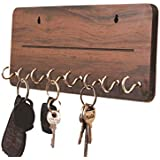Metvan Wall Mounted one line Key Holder, Key Holder, Key Chain Hanging Board