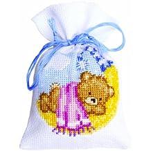 Vervaco 1 pieza Bolsas de oso de peluche de noche de polipropileno
