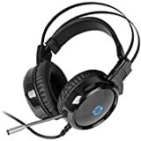 HP USB And 2 Pin Gaming Headset With Mic Control And LED Light H120