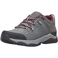 KEEN Women's Aphlex Waterproof Shoe, Raven/Gargoyle, 10.5 M US