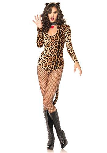 eoparden Kostüm, Größe XS (Leopard Ohren Und Schwanz Kostüme)