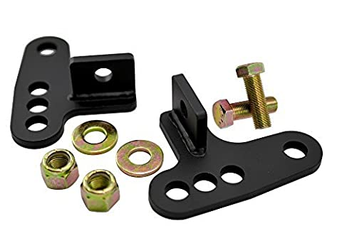 05-14 Harley Davidson SPORTSTER Sporty Rear Adjustable Slam LOWERING KIT Blocks 1 - 3 inches 1\
