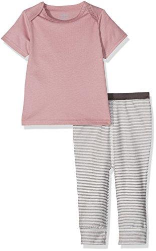 Mamas & Papas Baby - Mädchen Pyjama-Sets Gr. 12-18 Monate, Pink (Pink Stripe) (Pyjama Baumwolle Stripe)