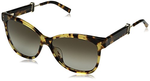 Marc Jacobs Damen MARC 130/S HA 00F 55 Sonnenbrille, Spotted Havana/BRWN Sf