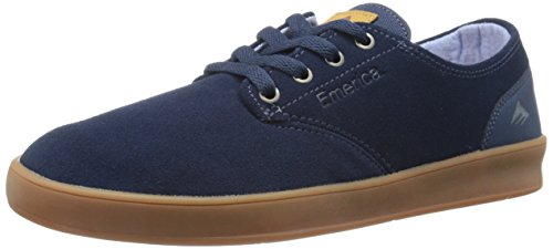 Emerica The Romero Laced, Chaussures de skateboard homme DARK BLUE/GUM