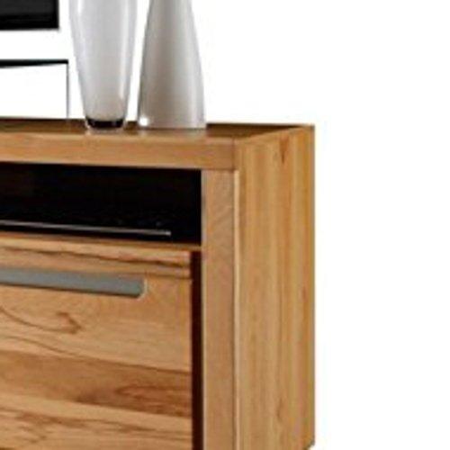 trendteam ZO32065 TV Möbel Lowboard, BxHxT 178 x 59 x 50 cm, Korpus Kernbuche Nachbildung und Fronten in Kernbuche massiv - 4