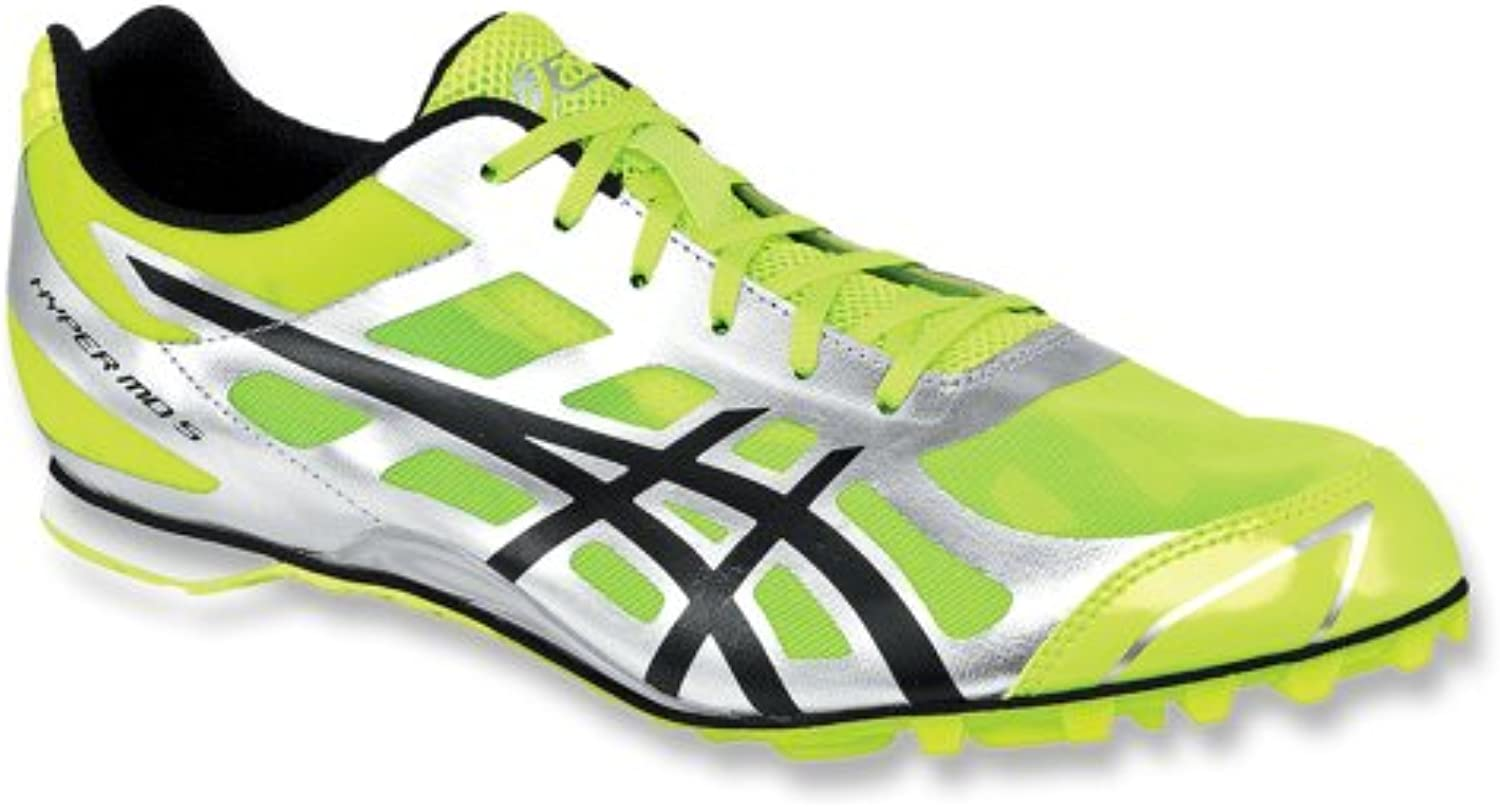 Asics Hyper MD 5 Men's Track Shoe 13 Neon Yellow Black Silver