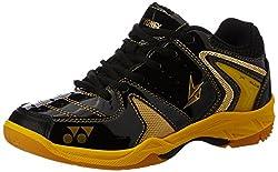 Yonex SRCR40LD JR Badminton Shoes, Junior UK 2 (Black)
