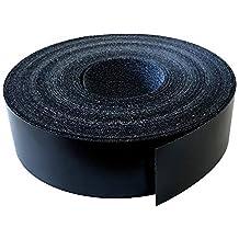 Kantenumleimer Melamin 22mm x 5m mit Schmelzkleber in schwarz glatt matt Dekor