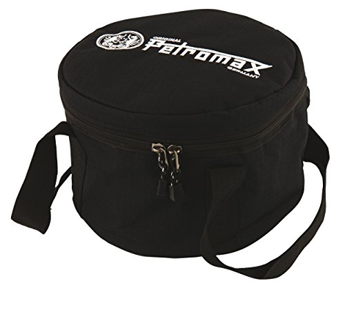 Petromax Original Transporttasche für Feuertopf (Schwarz, passend für FT12 und Atago)