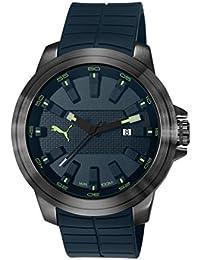 Puma Time Herren-Armbanduhr Dril luminous Analog Quarz Plastik PU103901002
