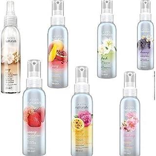5 x Avon Naturals Scented Spritz Room Linen Home Spray 100ml - Mixed Fragrances