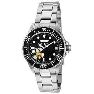 Invicta 24865 Character – Garfield Reloj para Mujer acero inoxidable Automático Esfera negro