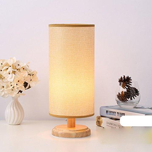 The harvest season- Bedside Lampe Lampen Warm Light Linen Lampenschirm E27 * 1 Lampenfassung (Farbe : 6) -