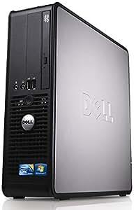 WiFi enabled Windows 10 Dell Optiplex Desktop PC, Dual Core, 4GB Ram, 160GB Hard Drive, DVD (Certified Refurbished)