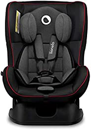 Lionelo Liam Sporty Black Baby Car Seat For weight Range - 0Kg To 18Kg with 5-Point Safety Belts with Anti-Sli