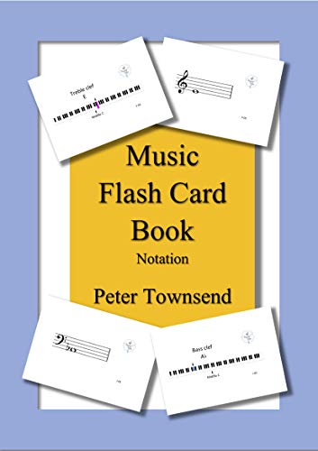 Music Flash Card Book: Notation (English Edition) eBook: Peter ...