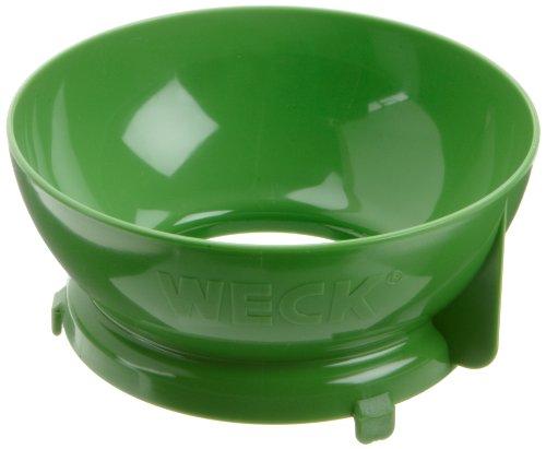 Weck 90316 Einfülltrichter Kunststoff, Grün, 15.4 x 14.4 x 7 cm